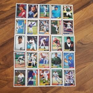 1992 Topps Lot of 130 Baseball Cards Buck Rodgers